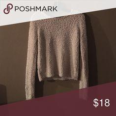 Fuzzy SOFT white sweater Cozy/soft white sweater. Sweaters