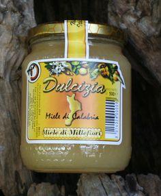 """Miele """"Dulcizia"""" Millefiori. Azienda produzione: Olicoop"""