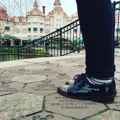 Let the festive season begin #vanessawu #shoes #disneyland