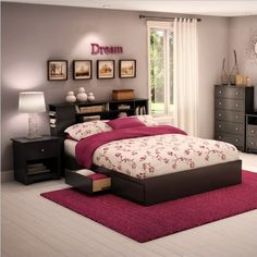 South Shore Breakwater Queen Wood Mates Storage Bed 3 Piece Bedroom Set in Black South Shore http://www.amazon.com/dp/B003CXRIZC/ref=cm_sw_r_pi_dp_RnYVtb0M3Y7W0NVB