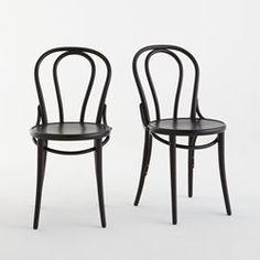 Chaise style bistrot, (lot de 2), Inqaluit La Redoute Interieurs - Chaise