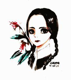 Wednesday Addams by Kuroeno on deviantART