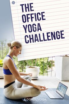 The Office Yoga Challenge #yoga #fitness #office