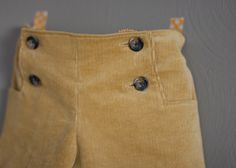 mustard sailboat cords // skirt as top