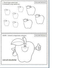 carticica fise matematice nivel 1 3-5 ani   Cu Alex la gradinita Preschool Writing, Preschool Worksheets, Baby Education, Toddler Activities, Kids And Parenting, Kindergarten, Bullet Journal, Learning, Children