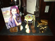 Look what our CEO & Founder, Beverly Maloney-Fischback, found upon arriving in her room at The Peninsula Hotel New York! A plate of chocolates including a white chocolate rendition of our Sept/Oct Fashion cover!