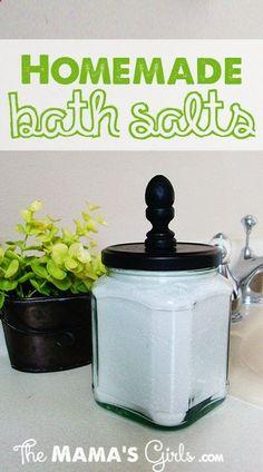 Homemade Bath Salts