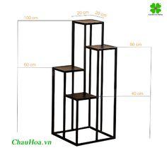 Welded Furniture, Diy Furniture Decor, Steel Furniture, Furniture Design, House Plants Decor, Plant Decor, Wood Plant Stand, Plant Shelves, Planer