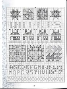ru / Photo # 7 - 3740 Crazy About Quits - tymannost Cross Stitch Kitchen, Cross Stitch Pictures, Cross Stitch Needles, Cross Stitch Heart, Cross Stitch Alphabet, Cross Stitch Samplers, Cross Stitching, Cross Stitch Embroidery, Cross Stitch Designs