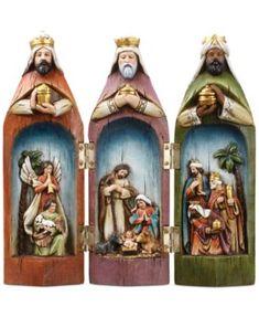 Napco Three Wise Men Nativity Set