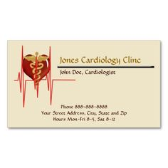 220 best cardiologist business cards images on pinterest visit cardiologist business card colourmoves