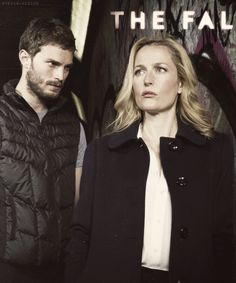 The Fall - Stella Gibson  Stella Gibson played by Gillian Anderson and Paul Spector played by Jamie Dornan - Great new show on BBC - brilliant!
