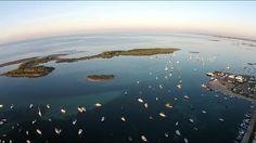 Isola dei Conigli by drone