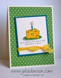 Julie's Stamping Spot -- Stampin' Up! Project Ideas Posted Daily: Giggle Greetings Envelope Card