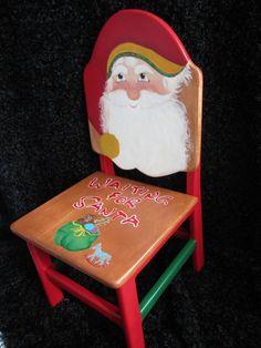 A  chair for Santa!
