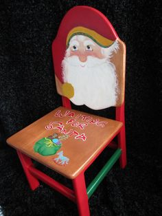 A  chair for Santa!