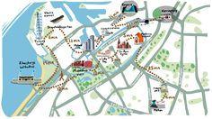 Top 10 attractions in Malmö: A) The Western Harbour w/ Turning Torso & Stapelbäddsparken (skateboard park) B) Lilla Torg C) Moderna musee D) Emporia E) Malmö Live