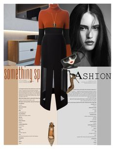 """Be Right There"" by eve-87 ❤ liked on Polyvore featuring Fendi, Dion Lee, Aquazzura, Alice + Olivia and Chloé"