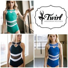 Five Dancewear Leotards available in our chandler, AZ showroom Pullover Shirt, Modern Dance, Acro, Dance Outfits, Dance Costumes, Dance Wear, Bodysuits, Showroom, Athletic Tank Tops