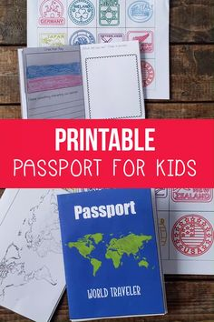 Printable Passport for Kids Does your child want to be a world traveler? Try these books from to Russia and get a stamp in your printable passport for kids. Your child will feel like a real traveler as they collect stamps in their own passport. Geography Activities, Geography For Kids, Geography Lessons, World Geography, Preschool Activities, Geography Quotes, Geography Revision, Geography Classroom, Teaching Geography
