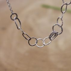 Handmade silver chain, super dainty and beautiful! Brand new in my shop and one not to miss..