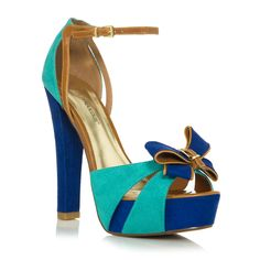 I love the blues!  too high for me but I would love to have them lower !JustFabulous