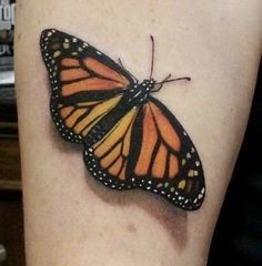 dd26e4a0931a0 Monarch Butterfly Tattoo on Pinterest | Butterfly Tattoos Tattoos ... Monarch  Butterfly Tattoo,