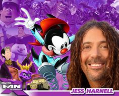 Meet voice actor Jess Harnell at #FANX16! Best known for voicing Animaniacs and Transformers, and much more! #utah