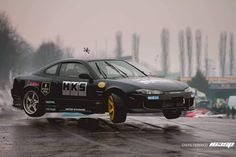 Nissan Z Cars, Jdm Cars, Drifting Cars, Nissan Silvia, Japan Cars, Car Posters, Stupid Funny Memes, Car Car, Pretty Pictures