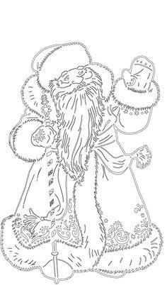 Фотографии Вытынанки от Светланы на заказ Christmas Crafts For Kids, Christmas Printables, Christmas Time, Christmas Cards, Russian Santa, Christmas Embroidery, Art Pages, Xmas Decorations, Kirigami