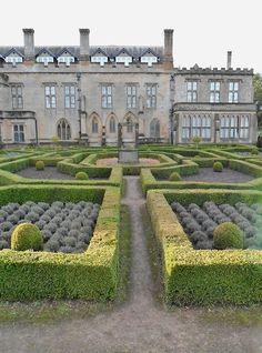 Newstead, Nottingham, England. Newstead Abbey, ancestral home of Poet Lord Byron.