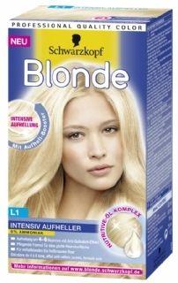 Schwarzkopf Blonde L1 - Intensive Blond Super, geschikt voor middenblond tot lichtbruin haar en licht je haar 4 tot 6 tinten op.