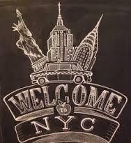 new york chalkboard - Google Search