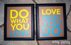 artsy-fartsy mama: Do What You Love!