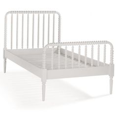 The Land of Nod | Twin White Jenny Lind Bed in Beds