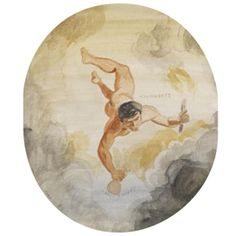 yannis tsarouchis images | Yannis Tsarouchis - PROMETHEUS, 1965, watercolour... on MutualArt.com