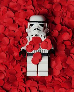 Star Wars. Stormtrooper in love.
