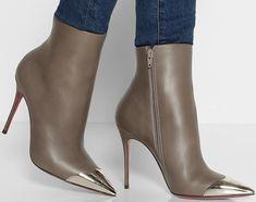 "Christian Louboutin ""Calamijane"" Ankle Boots"
