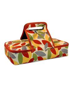 Look what I found on #zulily! Harvest Casserole Carrier by Design Imports #zulilyfinds