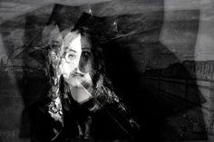 Pli et contreplis - Mona Lisa - Photographie,  60x40 cm ©2016 par lionel morateur -                                            Papier, Personnes, portrait, femme