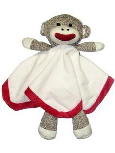 Sock Monkey Plush Lovey Baby Blanket Baby Starters,http://www.amazon.com/dp/B005HJ2CWS/ref=cm_sw_r_pi_dp_IinHsb01FTXF4WZ7
