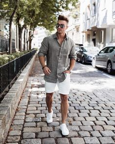 48 Lovely Summer Fashion Outfits Ideas For Inspirations is part of Summer outfits men - Beauty is the most important thing for women and they want to look fashionable all the time However, as the […] Mens Fashion Summer Outfits, Stylish Summer Outfits, Mens Fashion Suits, Guy Summer Outfits, Outfits For Men, Fashion Clothes, Casual Summer, Spring Outfits, Spring Fashion
