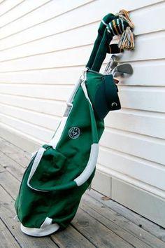 "Criquet ""Soul Golfer"" Bag by MacKenzie Golf Bags Mens Golf Outfit, Golf Attire, Sunday Golf Bag, Golf Gadgets, Golf Basics, Ladies Golf Bags, Golf Stand Bags, Golf Club Headcovers, Cheap Golf"