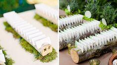 plan de table rondins de bois