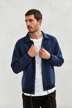 Publish Ruben Bonded Coaches Jacket - Urban Outfitters