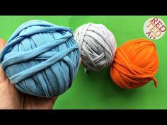 T-Shirt Yarn - How to make T-shirt yarn - YouTube