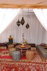Lavish 50th Birtday Party, Moroccan theme. E-mosaik.com