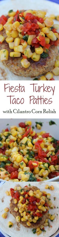 This delicious Turkey Taco Patties Recipe is really easy to make, thanks to AllWhites Egg Whites. Top it with a yummy Cilantro Corn relish & call it dinner! If I can make it, YOU can make it, trust me!