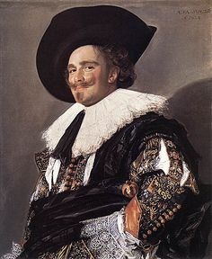 "Everytime I see it I smile, always! | ""The Laughing Cavalier"" by Frans Hals. 1624 d.C. - Holanda"
