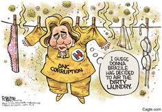 Hillary Hung Out by cartoonist Rick McKee published on 2017-11-02 14:35:47 at Cagle.com. Rick McKee is the staff cartoonist at The Augusta Chronicle. In 2006, McKee was named Time Magazine…